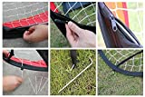 POCO DIVO 4-ft Soccer Goal Single Portable Pop-up Sports Game Target Net with Bag