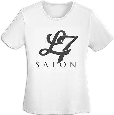 L7 Band T Shirt Women Short Sleeve Cotton Tees Casual Shirt