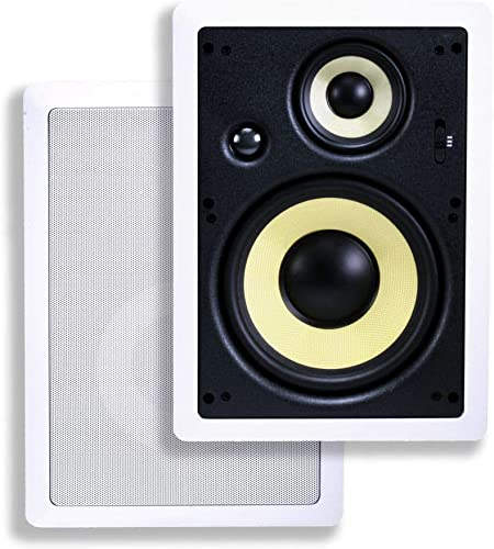 Monoprice 3-Way Fiber In-Wall Speakers