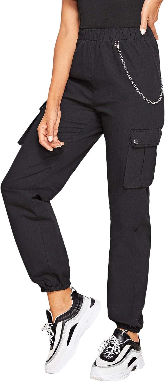 Beloved Men Sport Elastic Waist Contrast Color Straight Long Pants