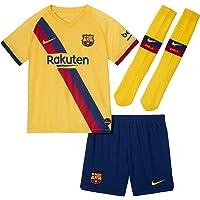Nike 2019-2020 Barcelona Away Little Boys Mini Kit