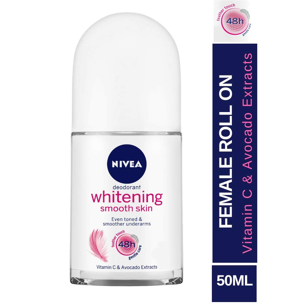 Nivea Whitening Smooth Skin Roll On, 50ml product image