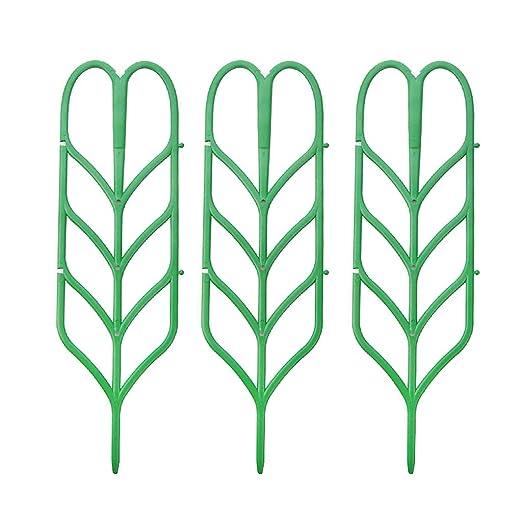 YO-HAPPY 3 Unids DIY Planta Enrejado para el Apoyo de la Planta de ...