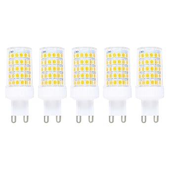 Regulable 10W G9 LED Bombilla de Blanco cálido 3000K Luz de Maíz Con 800ml Lumenes 360