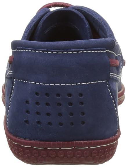 Phenis A8, Chaussures Bateau Hommes, Bleu (Saphir+Marine), 44 EUTBS