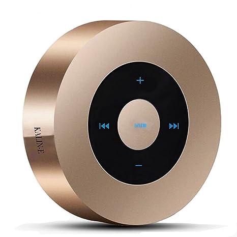 Inalámbrico Bluetooth altavoces,KALIN-E A8 portátil pantalla táctil Mini altavoces compacto Tamaño de