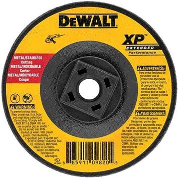 Amazon Com Dewalt Dw8859h Xp Cutting Wheel 5 8 11 Arbor 6 Inch By 0 045 Inch Home Improvement