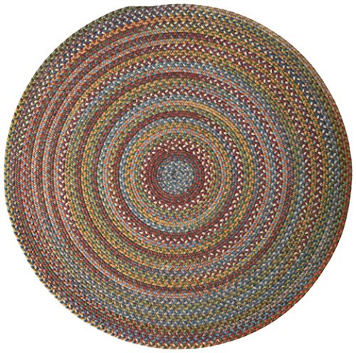 Colonial Mills Rustica Round Braided Rug, 6', Classic/Multicolor