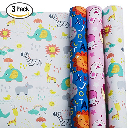 Wrapping Paper Baby Shower Wrapping Paper Gift Wrapping Paper
