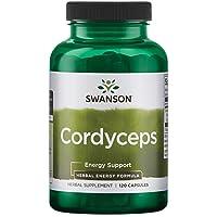 Swanson Cordyceps 600 Milligrams 120 Capsules