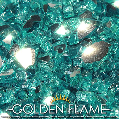 Golden 10 Pound Fireplace Reflective Supreme product image