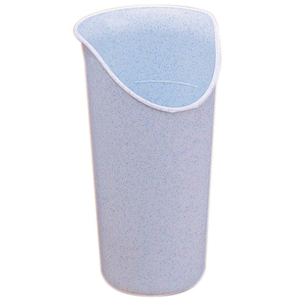 Maddak Ableware 8 Oz Blue Polypropylen Nosey Cup - 3 1/8 Dia x 5 1/5 H