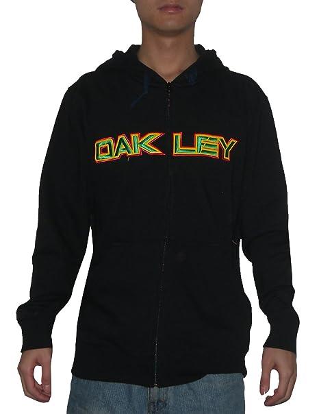 Para hombre Surf Oakley luz blanca cálida y skateboard con cierre de cremallera-up sudadera con capucha para-camiseta de manga corta chaqueta de hípica para ...