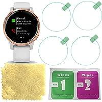 Octelect Tempered Glass screen protector for Garmin Garmin vivoactive 4S smart watch