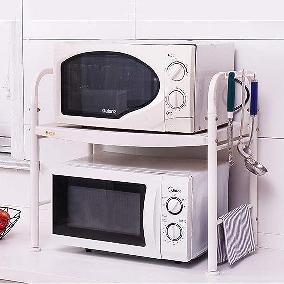 Amazon.com: LCMJ - Estantería para microondas de cocina ...