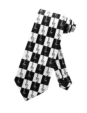 Steven Harris Hombres Música g llave Concierto corbata - Negro ...