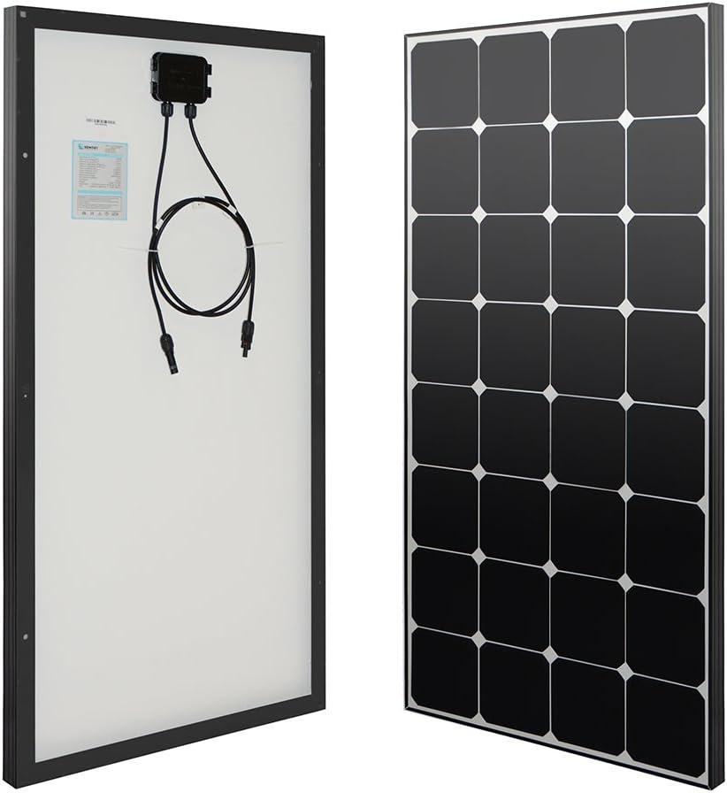 Renogy Eclipse- 100 Watt 12 Volt Monocrystalline Solar Panel