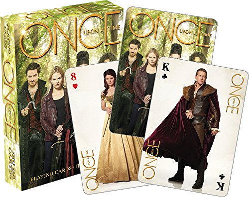 Aquarius Once Upon A Time Green Playing Cards (Once Upon A Time Hook And Belle)