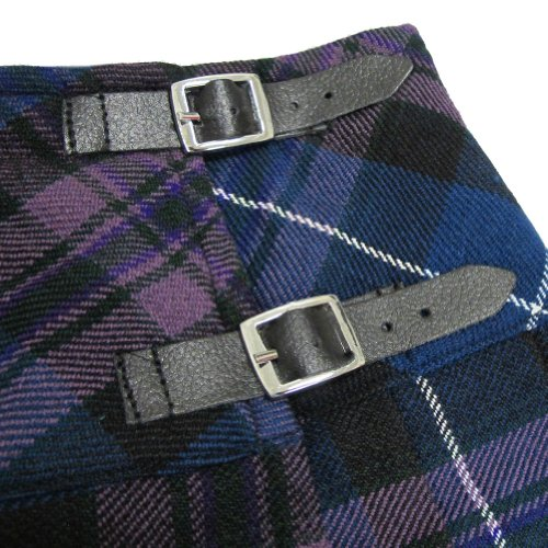 Damen Kilt im Honour of Scotland-Tartanmuster - Länge 51 cm