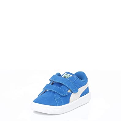 4931c783a7 Puma Toddler Blue Heritage Suede Trainers: Amazon.co.uk: Shoes & Bags
