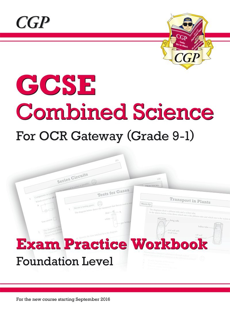 Ocr gateway gcse chemistry for combined science 9 1 student book new grade 9 1 gcse combined science ocr gateway exam practice workbook foundation gamestrikefo Images