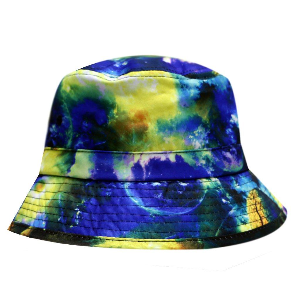 2ec694095a0 Amazon.com  City Hunter Bd1450 Stars Bucket Hats - Navy red  Clothing