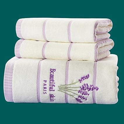 Toalla de 3 piezas Premium Set-1 toallas de baño y 2 toallas - Algodón