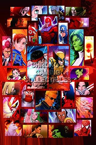 PremiumPrintsG - Ultimate Marvel Vs Capcom 3 PS3 PS4 Xbox 360 ONE Infinite - XEXT858 Premium Decal 11