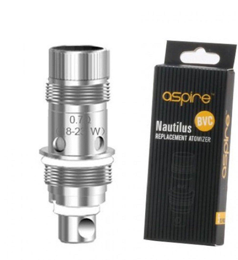 para Aspire Nautilus 2 y Nautilus Mini /& Nautilus /& K3 Kit 5 piezas BVC aspire 5pcs 0.7ohm