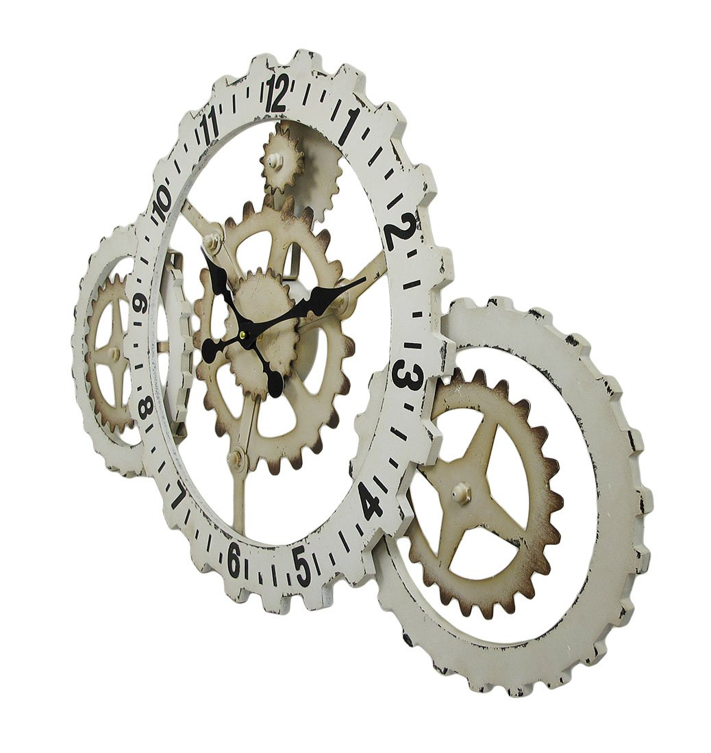 Amazoncom Industrial Gears Wood and Metal Steampunk Style Wall