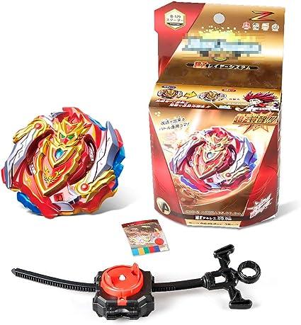 4D Fusion Modell Metall Masters Beschleunigungslauncher Innoo Tech 1 St/ück Kampfkreisel Set tolles Kinder Spielzeug Speed Kreisel