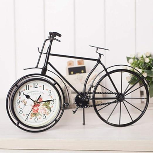 WCXA Retro Vintage Metal Bicicleta Bicicleta Escritorio Reloj ...