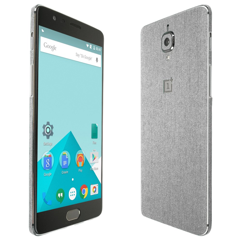 Skinomi Dark Wood Full Body Skin Compatible with Oneplus One TechSkin with Anti-Bubble Clear Film Screen Protector Full Coverage
