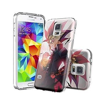 ASIB Samsung Galaxy S5 Funda [Transparente Carcasa] Case ...