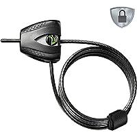 Master Lock Veiligheidskabel met sleutelslot [Verstelbare vergrendelingskabel van 30 cm tot 1,8 m] [Python] 8417EURDPRO…