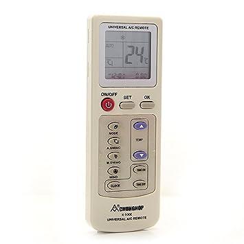 Mando a Distancia Control Remoto Universal para Aire Acondicionado