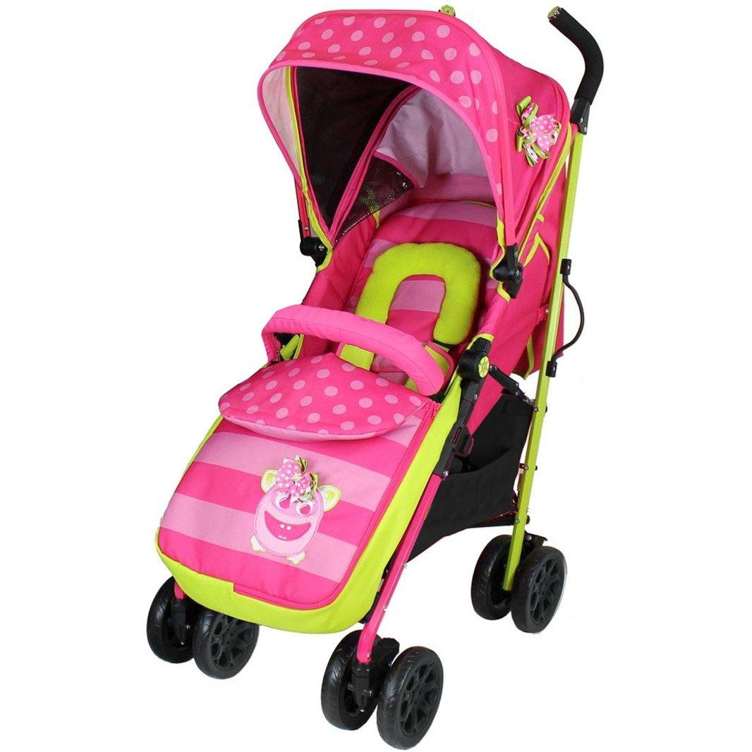 Parent Console 2018 iSafe OPTIMUM Stroller BOW Dots Design