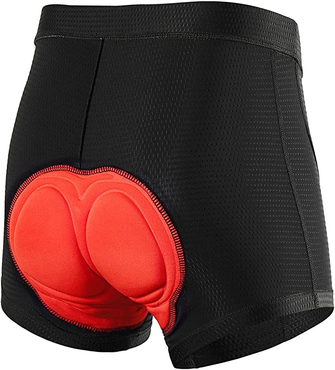 New Black Style Cycling Underwear 3D Padded Bike//Bicycle Shorts//Pants Size L BG