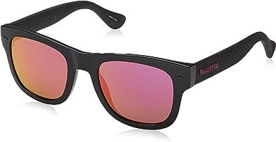 52 mm BLACK Havaianas Mens Paraty//l Square Sunglasses