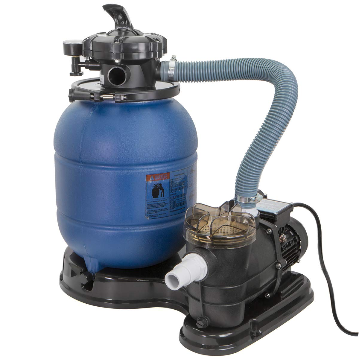 Pro 2400GPH 13'' Sand Filter w/ 3/4HP Water Pump Above Ground Swimming Pool Pump by Generic
