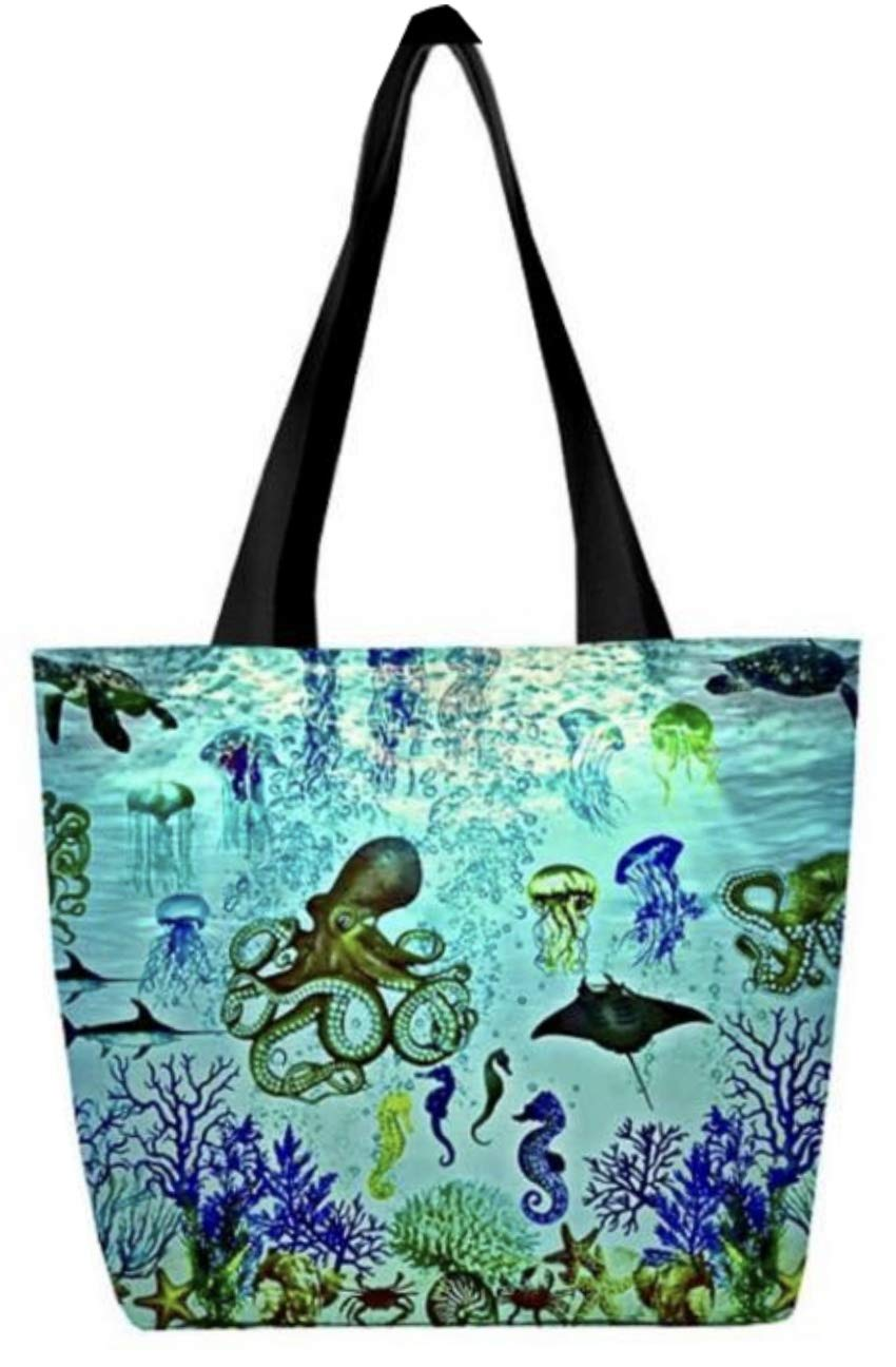 Aquatic World Tote Bag