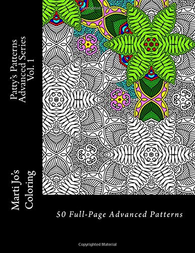 Patty's Patterns - Advanced Series Vol. 1: Advanced Patterns Coloring Book ebook