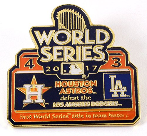 (aminco Houston Astros 2017 World Series Champs Commemorative Pin - Limited Edition 1,000)
