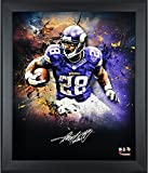 "Adrian Peterson Minnesota Vikings Framed Autographed 20"" x 24"" In Focus Photograph-Limited Edition of 28 - Fanatics Authentic Certified"