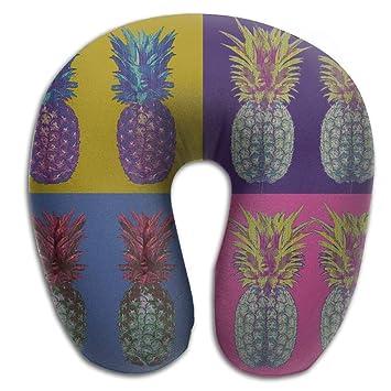 Amazon.com: CRSJBB219 Almohada de cuello portátil colorida ...