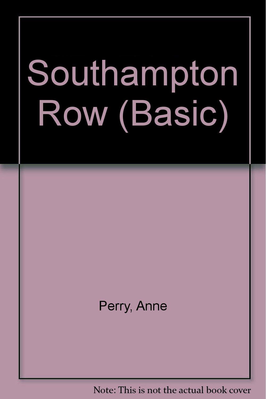 Read Online Southampton Row pdf