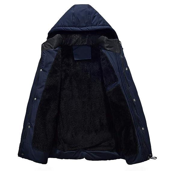 Amazon.com: Winter Jacket Men Warm Coat Sportswear Outwear ...