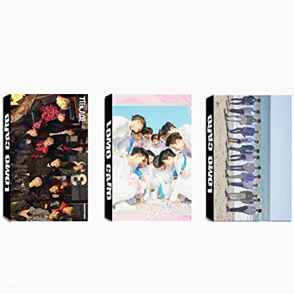 Amazon com : 3 Pack / 90 Pcs Pcs Kpop SEVENTEEN Lomo Card