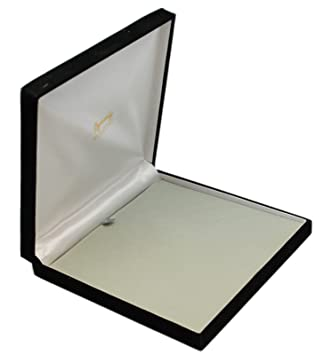 Amazon.com: Black Velvet Jewelry Box - Extra Large 7-1/2 Inch ...