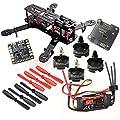 Hobbypower DIY 250 Mini Quadcopter H250 Racing Drone Frame Kit + HP T2204 2300KV Motor + Simonk 20A ESC + NAZE32 6DOF Flight Controller + 5045 Propeller
